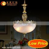 Low price umbrella shade lamp,bamboo pendant lighting,light blue lace dress light