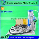Automatic rolling shutter operator/roller shutter side motor/backup battery roller door motor