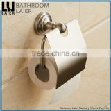 15133 best Factory Supplier stainless steel 304 Brush Nicked Wall Mounted Bathroom accessories Toilet Paper Holder