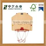 hot selling FSC&SA8000 new design basketball stands wooden DIY ducational toys for made in China sale