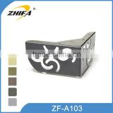 ZF-A103 high quality stainless steel table legs furniture leg extenders sofa leg extensions