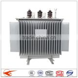 3 phase oil immersed electrical 10kv voltage transformer 500kva power transformer 50hz manufacturer