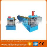 z furring channel Z shape Purlin Roll Forming Machine with Hydraulic drive