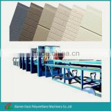 Used PU Aluminum Continuous Composite Panel Machine/ PLC Control-system Aluminum Composite Panel Machine