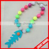 Wholesale fantasy good looking bead necklace designs