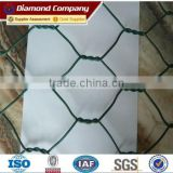 China Professional Manufacturer Cheap Metal Steel PVC Coated Hexagonal Wire Netting Roll Price