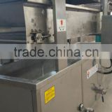 fish ball continuous frying machine with CE export to brazil, columbia, Dubai, pakistan, jordan