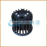 alibaba china mill finish extruded led aluminum heat sink / anodized cold forging aluminum heatsink