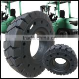 Chinese tyre manufacturer supply mitsubishi parts 28x9-15 solid tires with holes for forklift