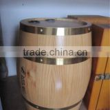 Made In China Pine Wood Ice Wine Beer Bucket Barrel