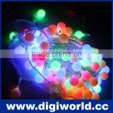 10M AC220V led string lights with 100 led round ball holiday decoration lamp lights