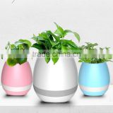 UCHOME New Plastic Flower Pot Bluetooth Speaker Smart Flower Pot Mini Speaker Music Flower Pot For Office And Home