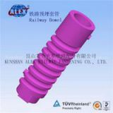 Railway Screw Dowel For Track, Railway parts supplier Railway Screw Dowel, Railroad parts supplier Railway Screw Dowel