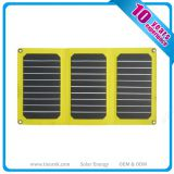 High efficiency Sunpower ETFE Folding Solar Panel Charger 21W with Dual USB
