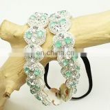 New arrival pretty women bead headband indian bridal hair accessories