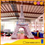 AOQI factory price advertising inflatable Eiffel tower model for sale