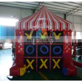 New arrival inflatable carnival Tic Tac Toe game for sale