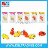 2015 wholesale kids plastic toys Wind up fish