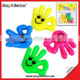 Hot Selling Plastic Whistle Toys Promotional Palm Shape Whistle