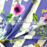 2016New Designs Digital Print Hot Sell Comfortable Deodorization Bamboo Fiber Fabric