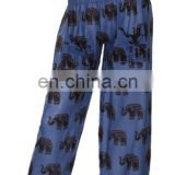 Unisex Harem Genie Gypsy Aladdin Pants Secret Santa Elephant Yoga Hippie Boho Alibaba Elastic Trousers Men/Women wholesale India