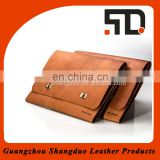 Fashion Design Quality Handcrafted Document Bag Genuine Leather Briefcase
