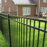 outdoor anti rust security metal yard guard fence