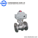 Mini Motorized Cast Iron Ball Valve Motorized Stainless Steel Flange Ball Valve