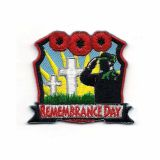 Lest We Forget Memorial Day Laser Cut Patch