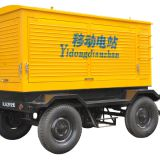 Factory price 100kw trailer diesel generator with cummins engine