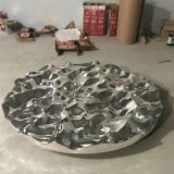 Hot Selling Art Stainless Steel Outdoor Sculpture Customized High Quality