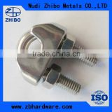 Malleable US type adjustable wire rope clip/wire rope cable grips/wire rope clamp manufacturer MADE IN CHINA