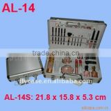 2013 new design tattoo cases ,tattoo equipment cases ,Aluminum tattoo cases , Cosmetics case with mirror and tray ,beauty case