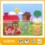 alibaba china supplier innovative products games for girls dress up new intelligent toyFelt fabric Arts & Crafts puzzle jigsaw