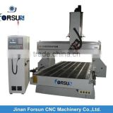 China CE supply 1300x2500-A2mm 4 axis cnc milling machine/Sm1315 4 Axis Cnc Router Machine For Wood Mould Sculpture