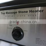Large stone heater for hot stone massage over 3 person use