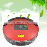 Good Robot Vacuum Cleaner with 120 Minutes Working and LED Display /floor sweeper