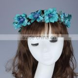 Wholesale fashion artificial flowers garland for girls 1110E06BD                                                                                                         Supplier's Choice
