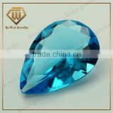 9*13mm Machine Cutting Pear Glass Crystals Gemstones