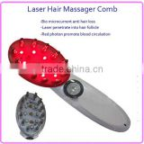 Hot sale Portable Effective 3 in 1 Bio Microcurrent photon Laser Hair Growth Massage Comb                                                                         Quality Choice