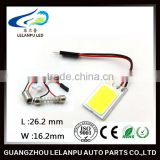 super bright auto interior led bulb roof light COB chip car parts led accessories lights