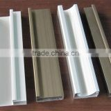 Customized best quality extruded kitchen g handle aluminum profile and aluminum g handle with different finishes