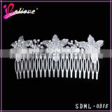 Reasonable price from factory wholesale hair jewelry flower hair comb wedding accessories bride hair