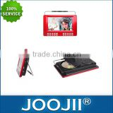 7-10 inch analog portable TV with DVD, excellent quality incredible price portable LCD TV support FM radio, USD MP3 player