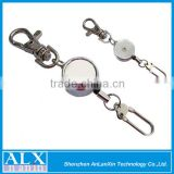 Contemporary promotion mini pull reel badge holder
