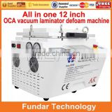 LCD Vacuum OCA Lamination Machine and Bubble Remover Machine for Max 12inch LCD Screen Refurbishment