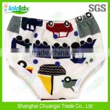 2014 New Arrival Washable Reusable Cloth Baby Training Pants