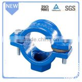 Promotion cast iron pipe saddle clamp