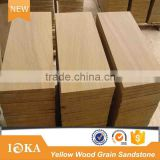 Natural Yellow Sandstone Tiles Slabs