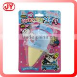 Hot summer ice cream mini cooling fans battery fan ice cream plastic and EN71